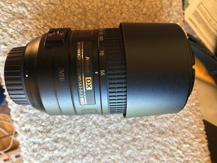 Nikon DSLR 55-300mm lens