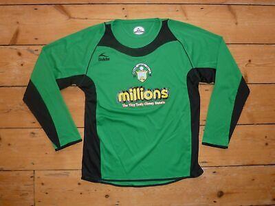 Official Greenock Morton FC Football Shirt  Small 07/08 Jersey Bukta L/S image