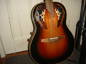 1984 Ovation Elite 12 String