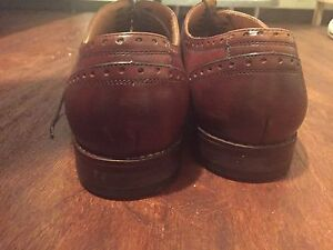 Brown Leather shoes. SIZE 12