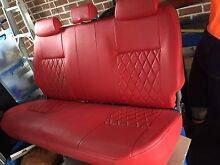 Hilux seats red leather Erskine Park Penrith Area Preview