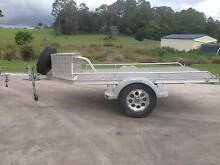 Flat top Aluminum Trailer for ATV, motor bike, Mower Witta Maroochydore Area Preview