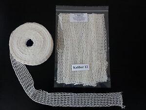 5m Kaliber 12 Bratennetz, Rollbratennetz, Schinkennetz, Rouladennetz Räuchernetz