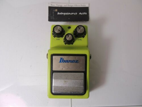 1983 Ibanez SD-9 Sonic Distortion Effects Pedal Vintage Free USA Shipping