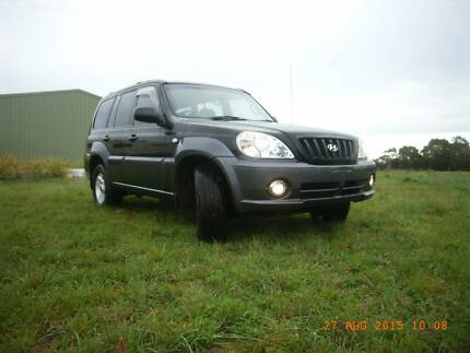 2002 Hyundai Terracan Wagon Connewarre Geelong City Preview