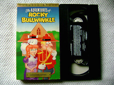 The Adventures of Rocky And Bullwinkle V.6 - Canadian Gothic (VHS, 1991)