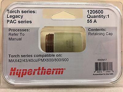Genuine Hypertherm 120600powermax 600 800 900 Retaining Cap Max 42 43 40cs 55a