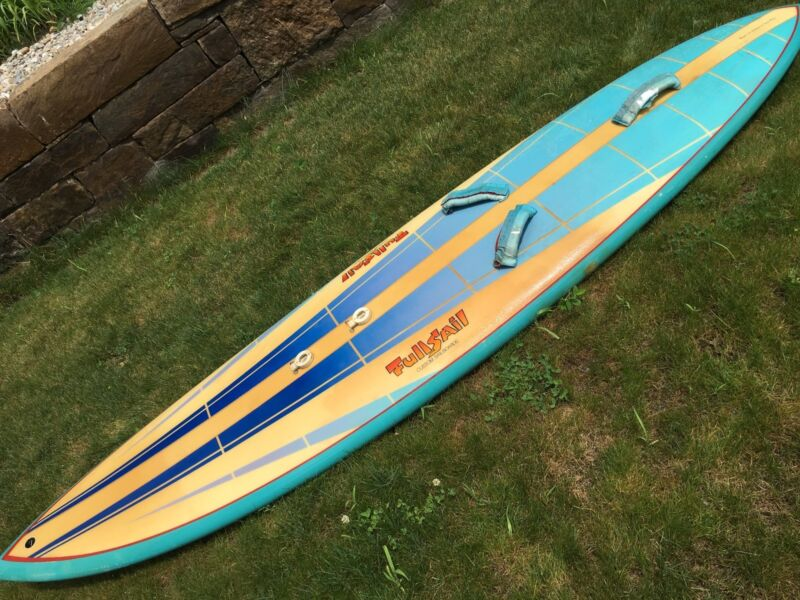 Vintage Full Sail custom sailboard with Gaastra Sail