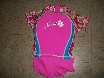 SPEEDO Girl/'s Kneeskin Techsuit 8191440 $99 NWT
