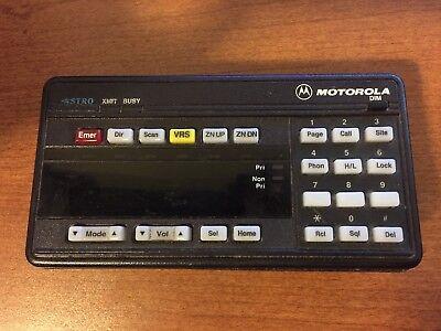 Motorola Astro Spectra Control Head - Systems 9000 - Hcn1078f - Inventory 01