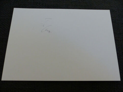 JUDE LAW signed Autogramm auf 20x30 cm Karteikarte InPerson LOOK