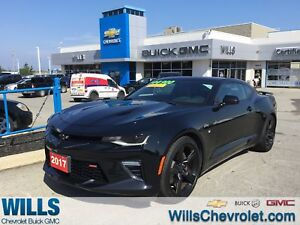 2017 Chevrolet Camaro 2SS | LEATHER | SUNROOF | GPS | BLACKED OU