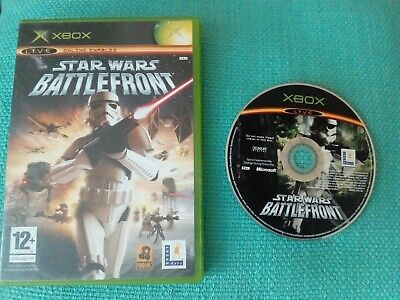 Star Wars Battlefront - Original Xbox Game (No Instructions)
