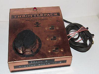 MRC MODEL 501 N THROTTLEPACK HOBBY TRANSFORMER w/BOX!