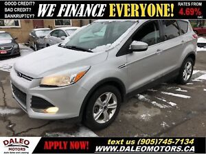 2014 Ford Escape SE|LOW KMS|BACKUP CAM|BLUETOOTH|HEATED SEATS
