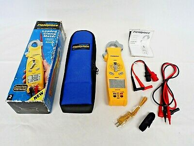 Fieldpiece Sc620 Loaded Clamp Meter Swivel Clamp Magnetic Strap