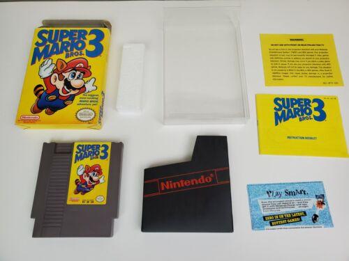Super Mario Bros. 3 Nintendo Entertainment System, 1990 CIB Tested Authentic - $150.00