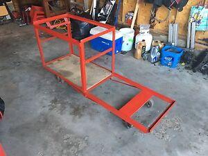 Heavy Duty Tool Box Cart