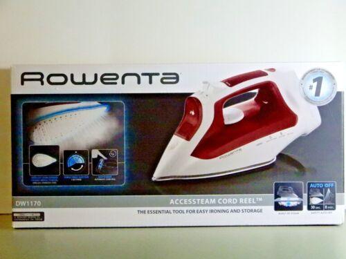 Rowenta AccessSteam Steam Iron Burgundy DW1170U1