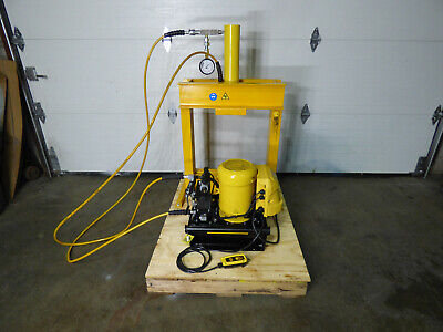 30 Ton Enerpac Benchtop Press 14 Stroke Ze5 Class Pump