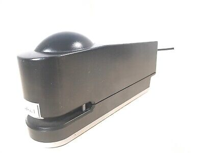 Boston Electric Stapler 100 Automatic Black Uses Standard Staples Tested Works