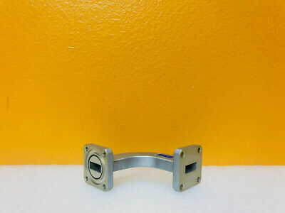 Continental Microwave Cmt Rhb42-1.45 Wr-42 Rigid Waveguide H-bend. Tested