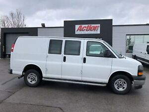2017 Gmc Savana 2500 CHROME,CRUISE, SAFETY PARTITION INCLUDED