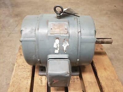Ge 10hp 220440v 1180rpm Frame 284u Electric Motor