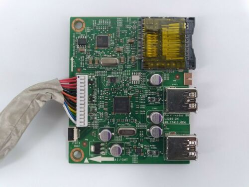 "Dell UltraSharp U3014 Card Reader Board 48.7T410.02M 30"" Monitor Part"