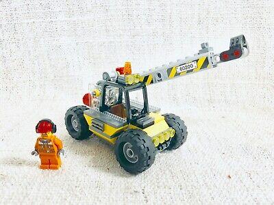 Lego Town Square Construction Crane + Figure 60097/60026/60200/8404/7641