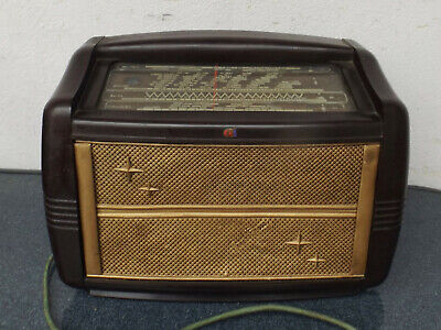 Antiguo Philips BF491 A05 Radio de Tubos Receptor Universal Carcasa Baquelita segunda mano  Embacar hacia Mexico