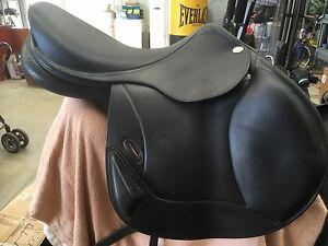 Eventing saddle black Hoy / Davey Pyalong Mitchell Area Preview