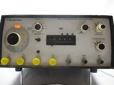 Wavetek 171 Synthesizer Function Generator