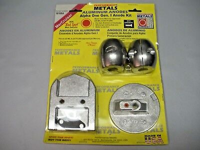 Performance Metals Alpha One Anode Kit 10108A