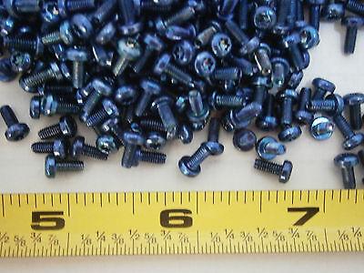 Machine Screws M2.5 X 6 Torx Head T-8 Steel Zinc Blue Taptite Lot Of 50 3044