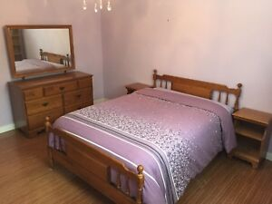 5 piece Bedroom Set (solid maple)