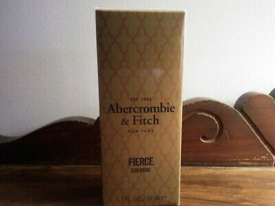 NWB Abercrombie Fierce Cologne - 1.7 Fl.Oz. - Dubai Limited Edition - SEALED