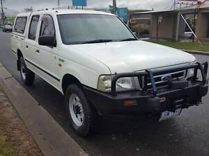 2004 Ford Courier 4X4 Diesel Ute Traralgon East Latrobe Valley Preview
