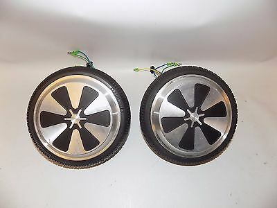 "Pair of 6.5"" Replacement Wheel Rim Tire For Mini Smart Unicycle Scooter Motor"