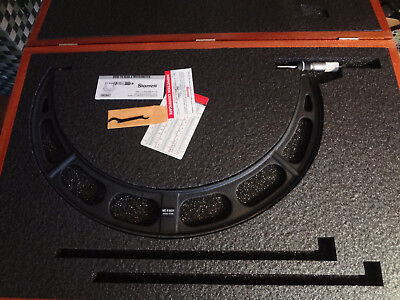 Starrett Outside Micrometer 425-450mm 436mxrlz-450 64306