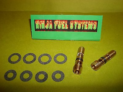 .101 VITON TIP ADJUSTABLE NEEDLE & SEAT FITS HOLLEY 2300 4150 4500 W/ XTRA GASKE