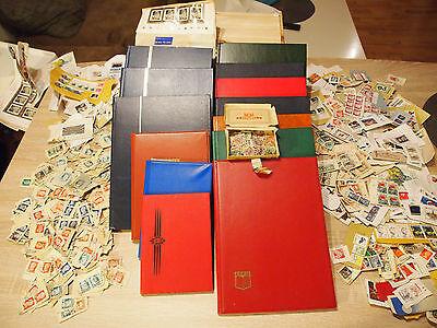 Briefmarken Sammlung BRD / Europa / Übersee / Weltweit 13 Alben BILDER!