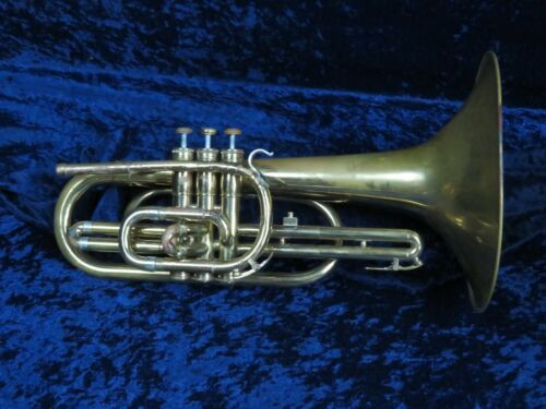 Olds F Mellophone Ser#976860 Plays Well but Main Tuning Slide Needs Adjustment