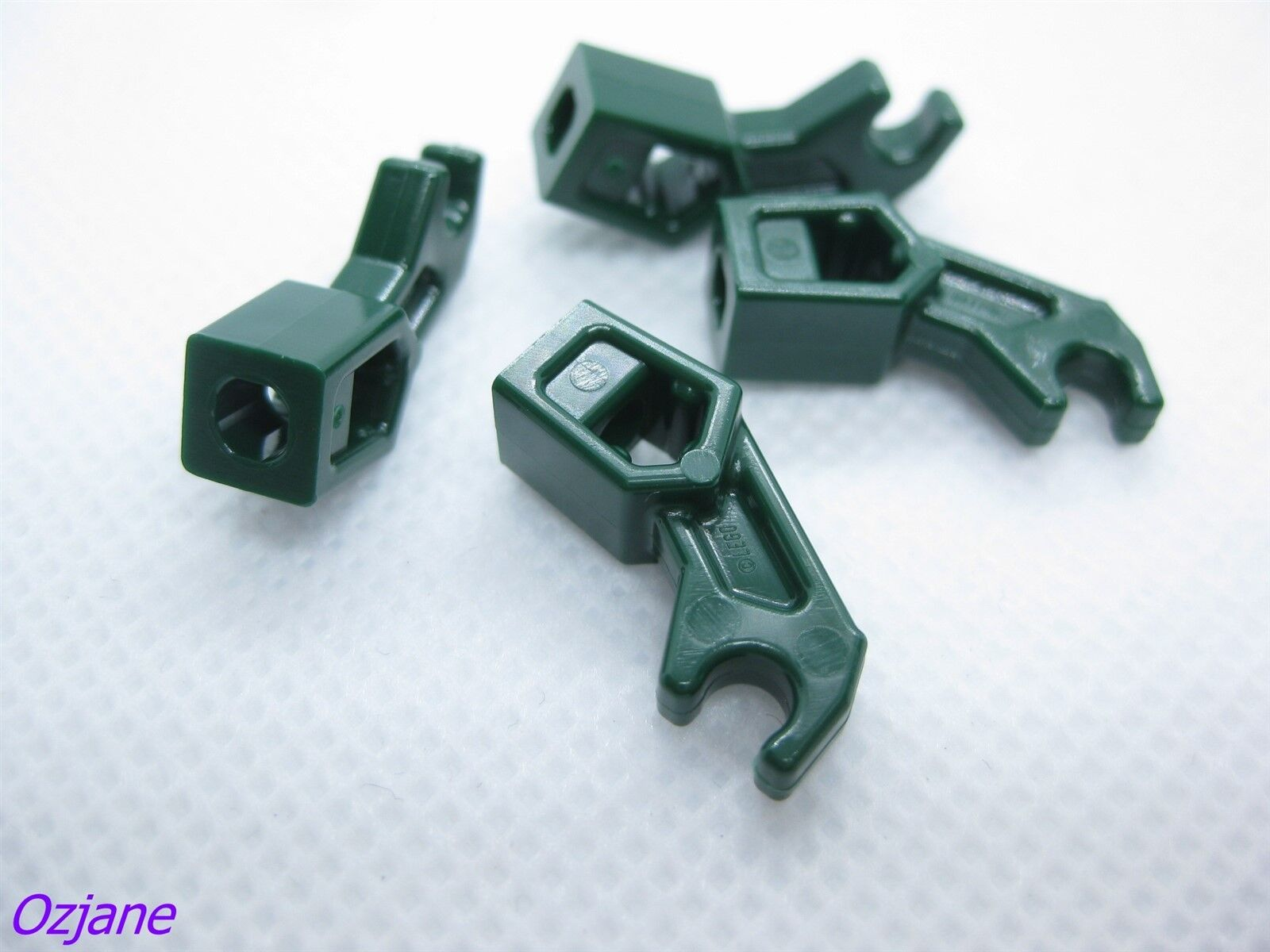 LEGO PART 53989//98313 BLACK ARM MECHANICAL TECHNIC BIONICLE X10 PCS NEW