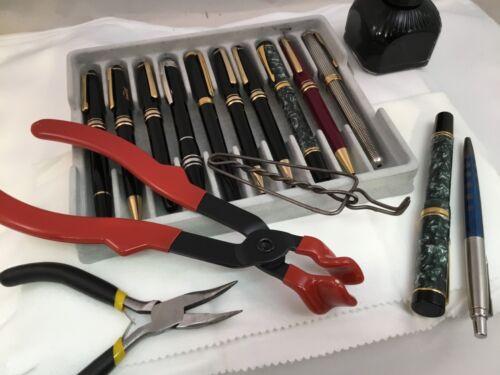 Fountain Rollerball Ballpoint Pen Repair Services Montblanc Parker Waterman