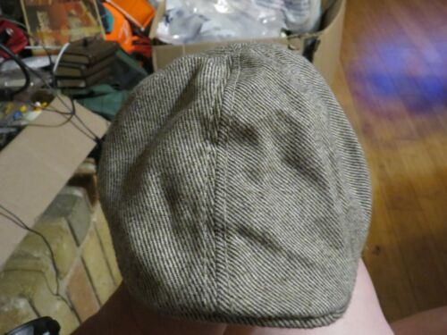 The Blueberry Hill Cabby / Driving Cap Hat XSmall 1-3 Years Tweed Tan