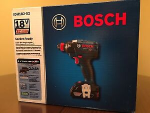 Brand New, Bosch Brushless 18v Impact Driver and Drive Wrench