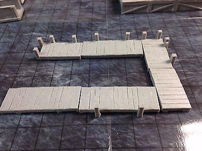 Ainsty Unpainted Terrain 28mm Wooden Catwalk D&D Dwarven Forge