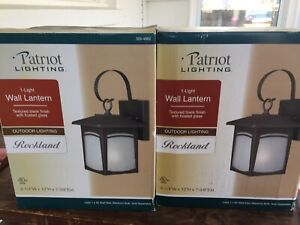 2 Outdoor Wall Sconces