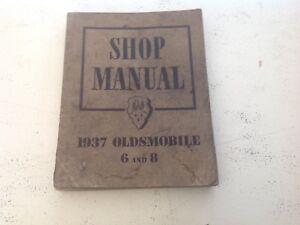 1937 Oldsmobile Shop Manual